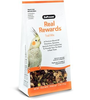 ZuPreem Real Rewards Trail Mix for Medium Birds 6 oz.