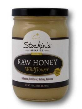 17 oz Raw Wildfower Honey