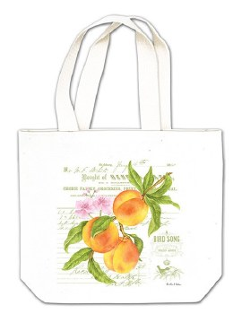 Peach Gift Tote