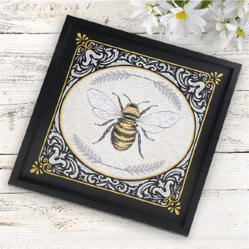 Bee Framed Sign