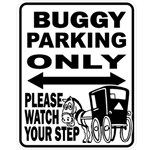 Buggy Parking Magnet