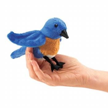Bluebird Folkmanis finger puppet