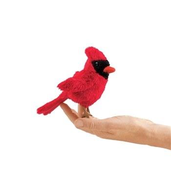 Cardinal Folkmanis finger puppet