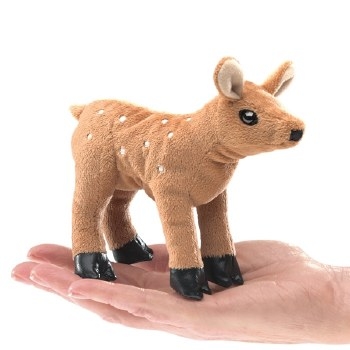 Fawn Folkmanis finger puppet