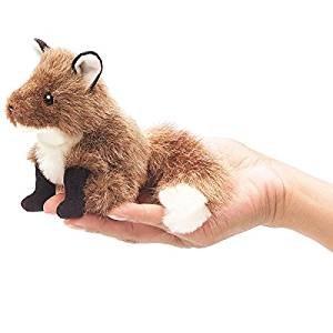 Fox Folkmanis finger puppet