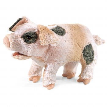 Grunting Pig Hand Puppet