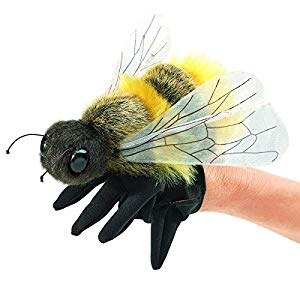 Honey Bee Handpuppet Folkmanis hand puppet
