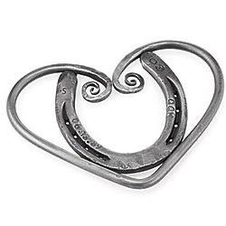 Horseshoe Heart Trivet