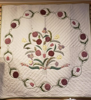 Appliqued Wall Hanging