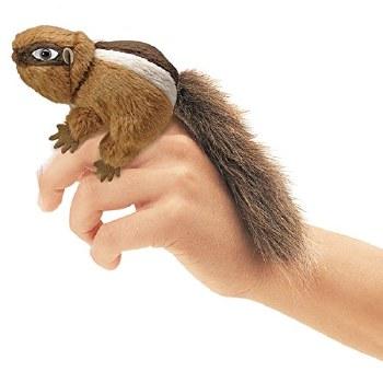 Mini Chipmunk Folkmanis finger puppet