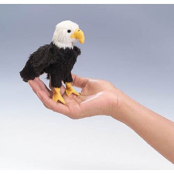 Mini Eagle Folkmanis finger puppet
