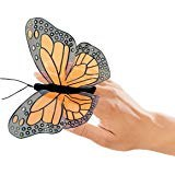 Monarch Folkmanis finger puppet