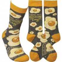 Egg-cellent socks