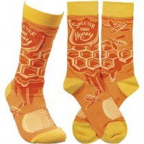 Sweeter Than Honey Socks