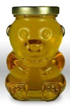 14 oz. Glass Bear