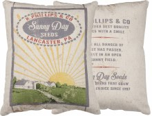 Sunny Day Seeds Pillow