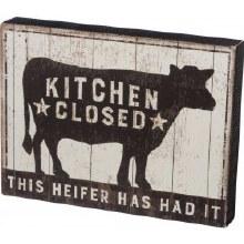 This Heifer Has Had It
