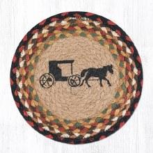 Amish Buggy Trivet Amish Buggy 10 inch Trivet