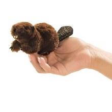Beaver Folkmanis finger puppet
