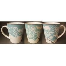 A/c Blue Etched Mug
