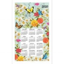 Butterfly Gard. Calendar Towel