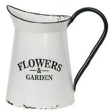 Flowers And Garden Pitcher