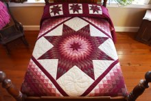 Folded Star Quillow