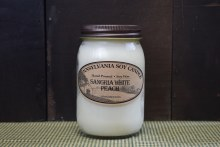 Sangria White Peach Soy Candle