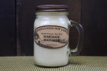 Root Beer Scented Soy Candle