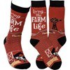 Farm Life Socks