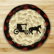 Horse and  Buggy Coaster