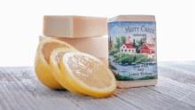 Lemon Verbena Lemon Verbena scented  Amish made Goat Milk soap by Misty Creek
