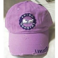 Lancaster Crest Hat Purple