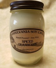 Spiced Cranberrysoy Candle