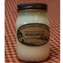 Warm Apples Soy Candle
