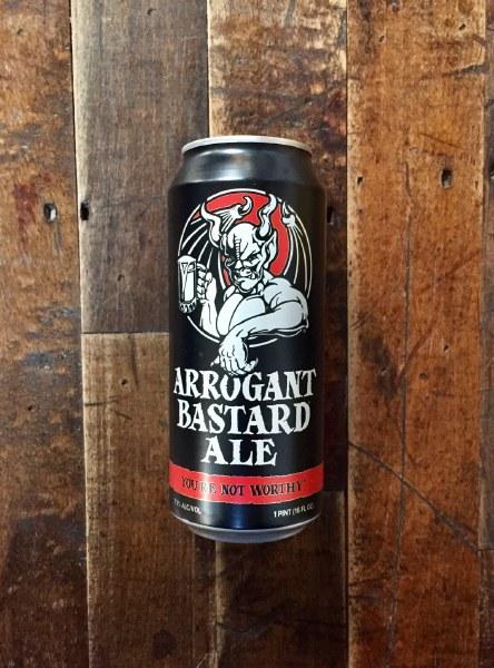 Arrogant Bastard - 16oz Can