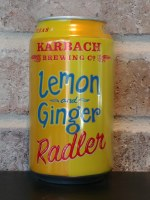 Lemon Ginger Radler - 12oz Can