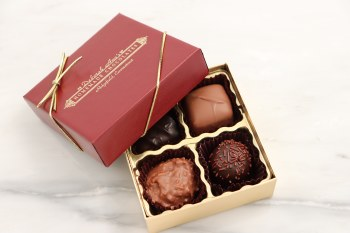 Assorted Chocolates 4 Piece Box