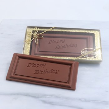 Chocolate Bar Happy Birthday