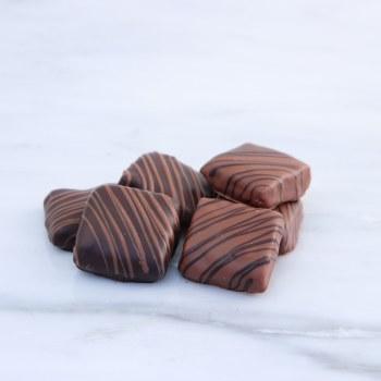 Chocolate Covered Peanut Brittle