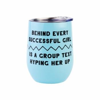 Get it Girl Tumbler-Group Text