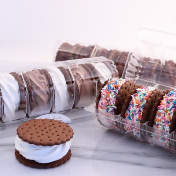 IC Sandwich 6 Pk Chocolate