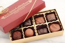 Assorted Milk Chocolates 8 Piece Box