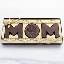 MOM Milk Chocolate Letters