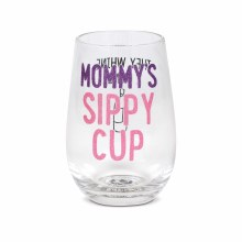 Mom's Sippy Cup - WineGlass