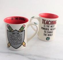 Teacher Brave Mug