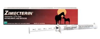 Zimecterin Paste - Horse Dewormer