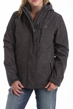 3 In 1 Bonded Jacket  Charcoal