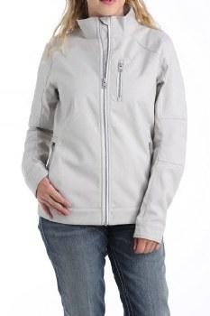 Cinch Textured Bonded Jacket Gray