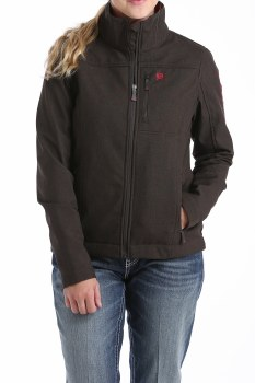 Cinch Conceal Carry Bonded Jacket Chocolate/Cranberry